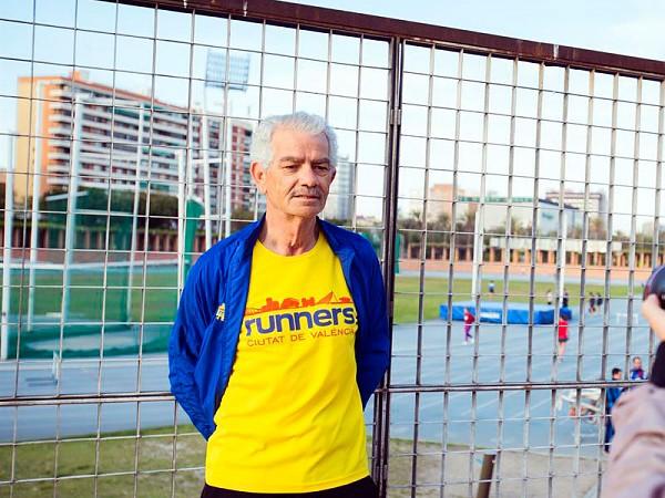 Paco Calvo: el hombre que quiere correr hasta los 105 años